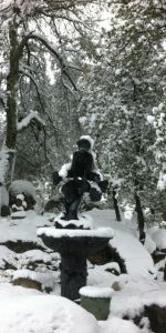 Snow Boy Fountain
