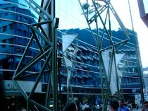Andorra glass building